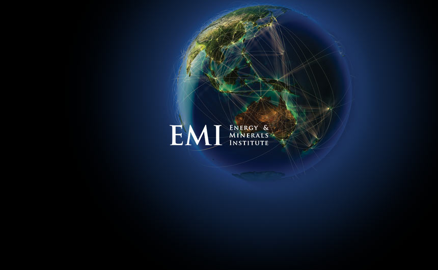 Planet earth and EMI logo